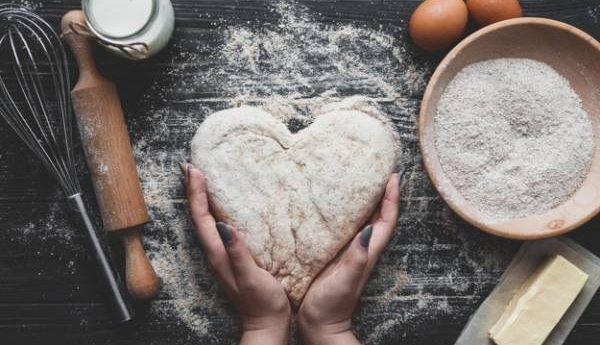 الخبز في المنزل
