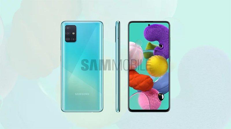 شاهد المزيد من الصور والمعلومات الكاملة عن Samsung Galaxy A51 أكو وب