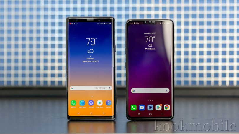 "LG-40-beside-Note-9-Samsung ""width ="" 700 ""height ="" 394 ""loading ="" lazy ""src ="" https://kookmobile.com/wp-content/uploads/ 2019/01 / LG-40-On-the-Side-Note-9-Samsung .jpg ""/><noscript><img loading="