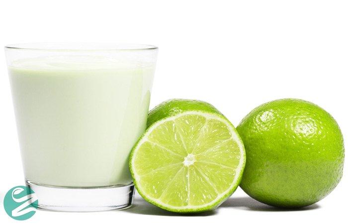 قناع الليمون والحليب والكركم