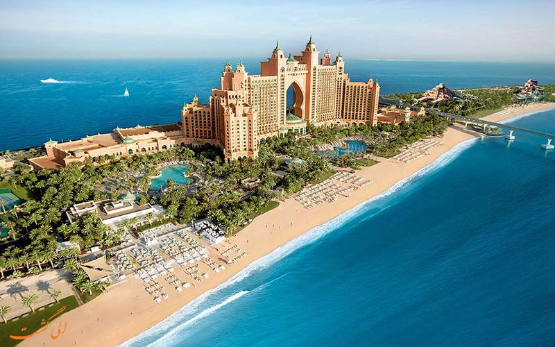 فندق أتلانتس بالم دبي ، خيار رائع للأزواج الصغار