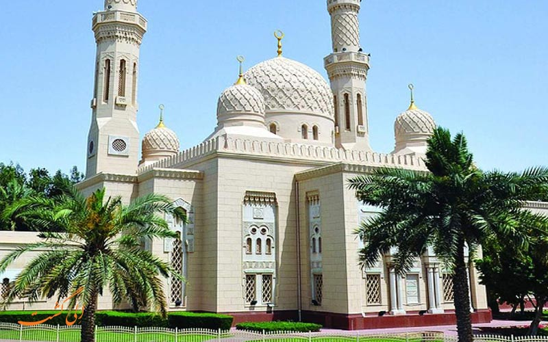 دخول الجمارك إلى مسجد جميرا