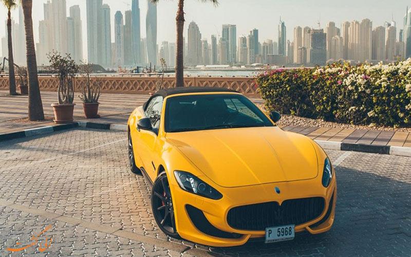 يمكنك ركوب هذه السيارة من خلال استئجار سيارة في دبي