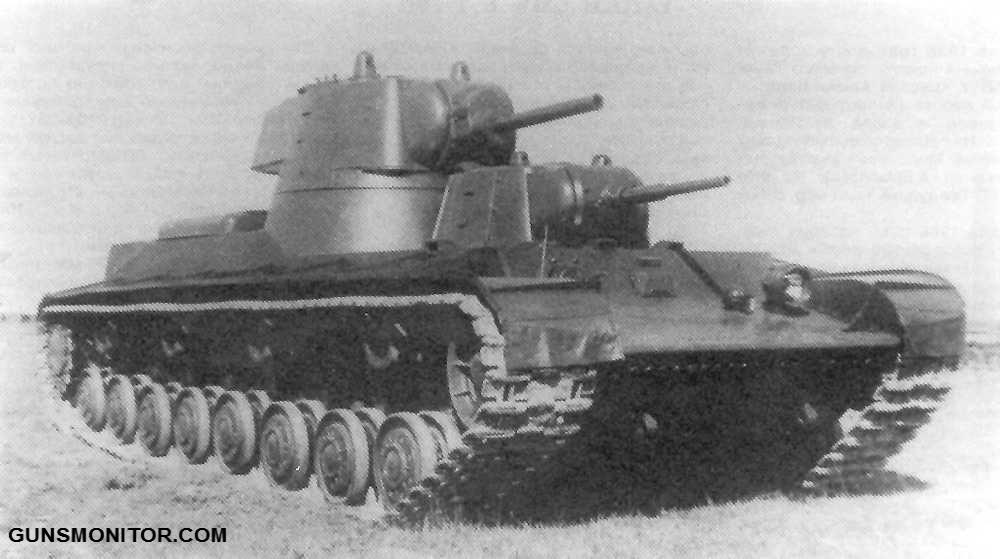1576106712 713 دبابة SMK رو الروسية التي تم إنتاج آلة واحدة منها أكو وب