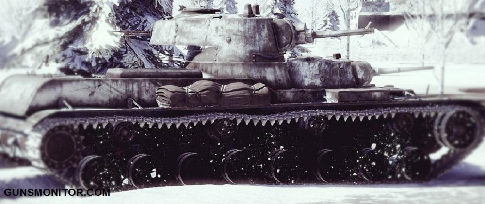 1576106712 807 دبابة SMK رو الروسية التي تم إنتاج آلة واحدة منها أكو وب