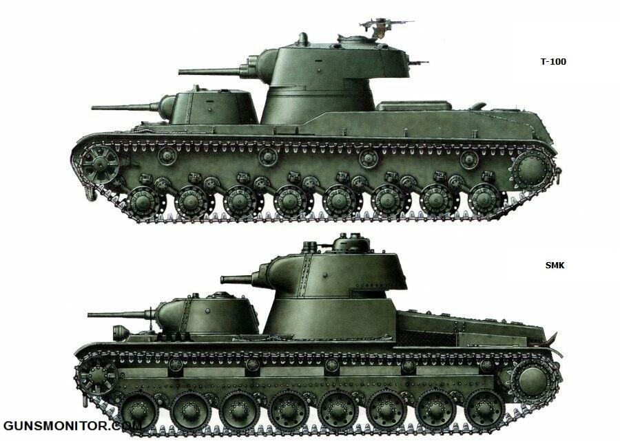 1576106712 839 دبابة SMK رو الروسية التي تم إنتاج آلة واحدة منها أكو وب