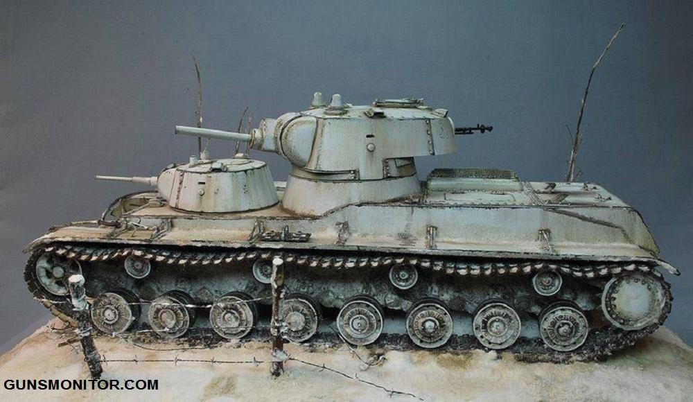 1576106712 845 دبابة SMK رو الروسية التي تم إنتاج آلة واحدة منها أكو وب