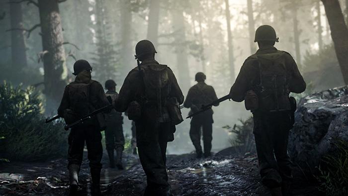 نداء الواجب الحرب العالمية الثانية