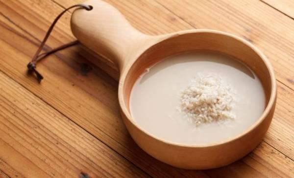 قناع عصير الأرز