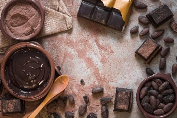 الكاكاو من الأطعمة الطاقة