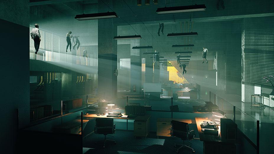 صور لعبة التحكم (Control) - منزل مائل