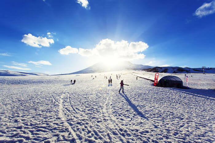 نشاط الثلوج