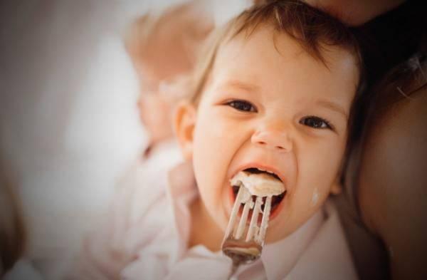 طفل منشط الغذاء