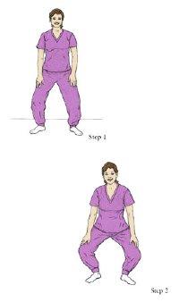 التدريب التمرين في الحمل - نقل بولي