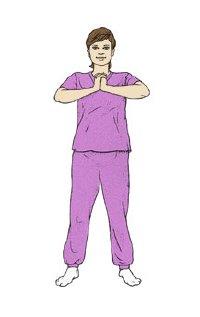 التدريب التمرين في الحمل - تقوية عضلات الظهر والصدر