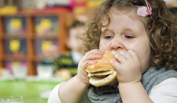 مخاطر السمنة عند الأطفال