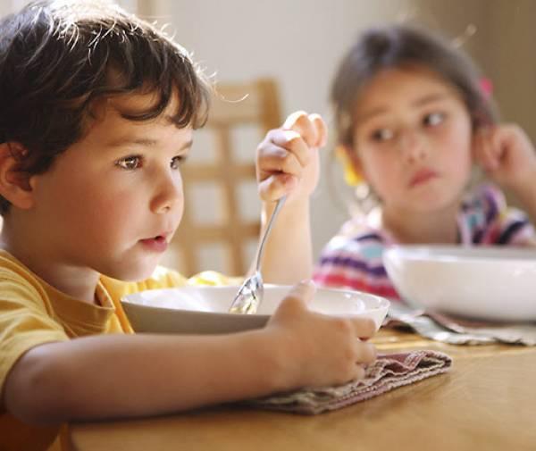تغيير أغذية الأطفال