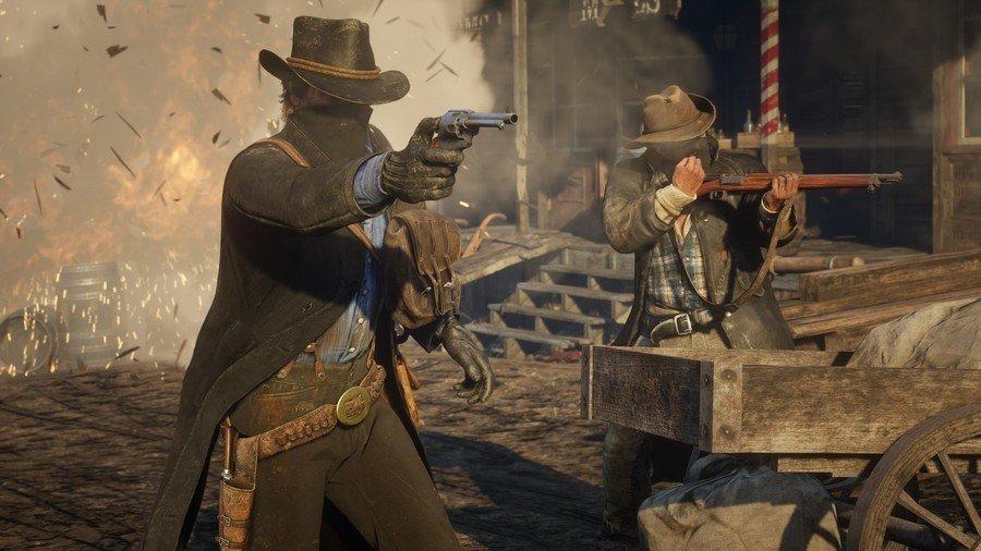 1576750820 908 في الغرب المتوحش معاينة Red Dead Redemption 2 أكو وب