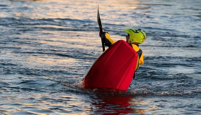 قوارب الكاياك مجداف الرياضات المائية