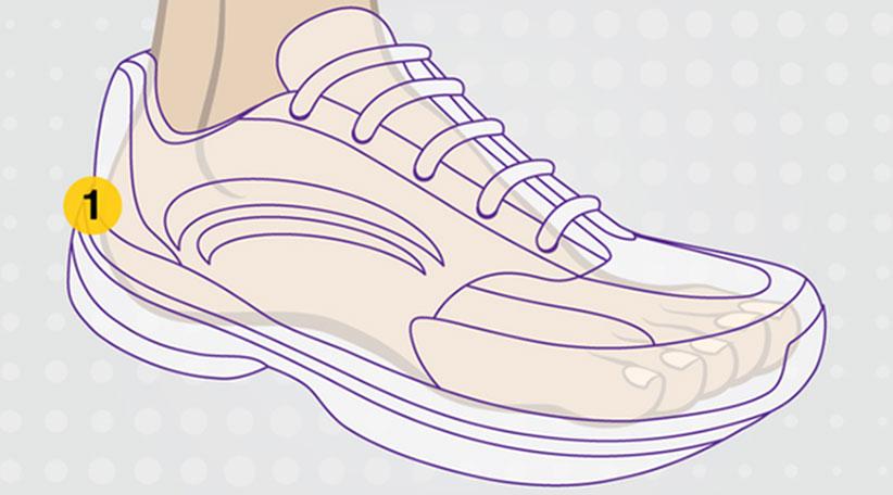 شراء أحذية المشي لمسافات طويلة
