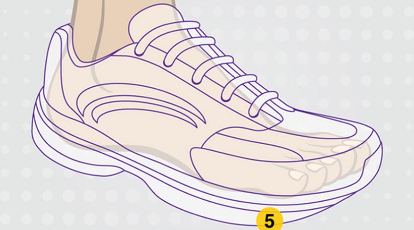 المشي لمسافات طويلة دليل الأحذية