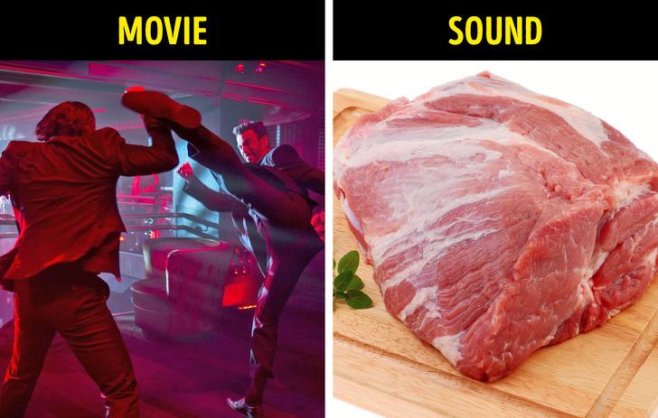 صوت اللكم - قطعة من اللحم