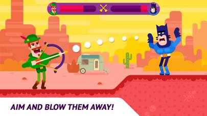 Bowmasters لعبة متعددة اللاعبين أكو وب
