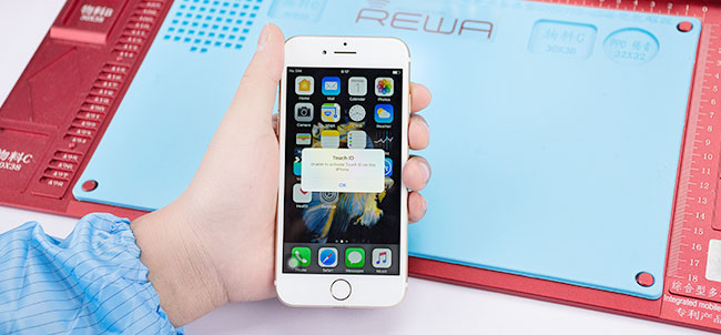 اي فون 7 اللمس معرف إصلاح الأجهزة أكو وب