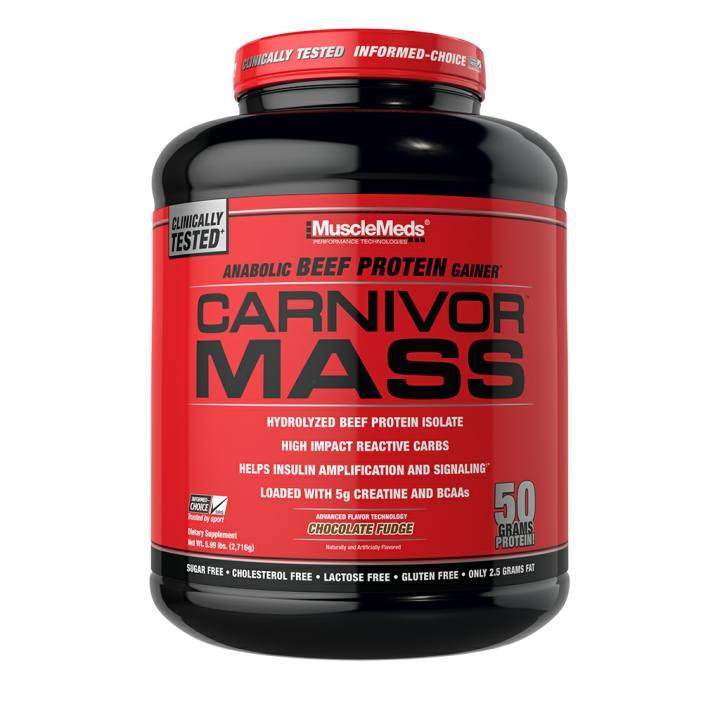 ملاحق زيادة الوزن - MuscleMeds Carnivor Mass