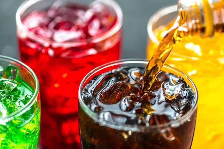 المشروبات الغازية والمشروبات الغازية والسمنة في البطن