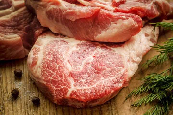 اللحوم الحمراء عالية الدهون والسمنة في البطن