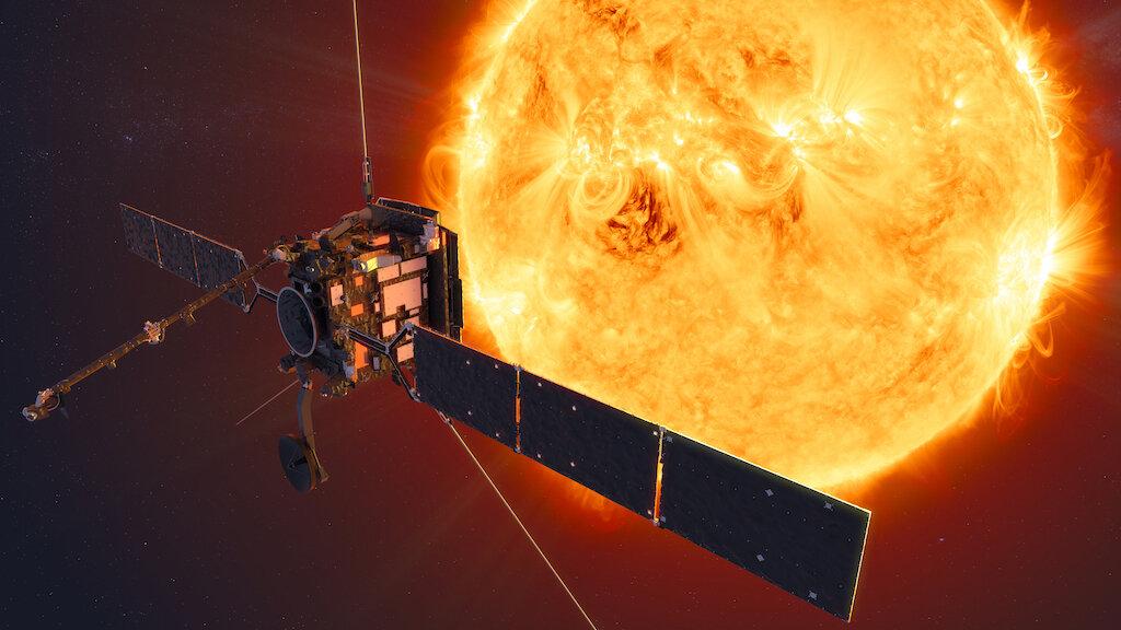 الركائز الشمسية المداري