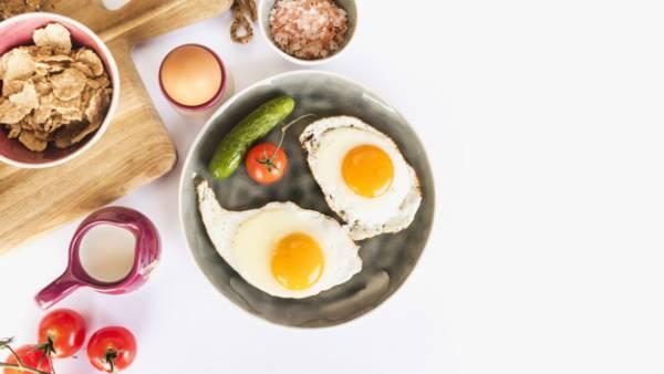 خبز بيض الدجاج