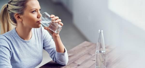 اشرب الكثير من الماء