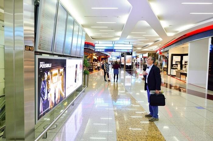 دبي مترو كونفينينت وسيلة للوصول