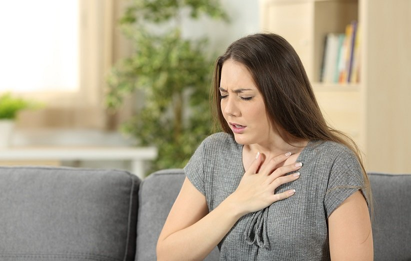 مشكلة في الجهاز التنفسي من تأثيرات الحرارة