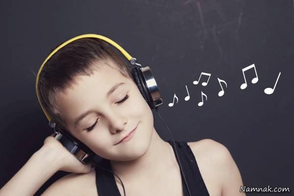 الاستماع إلى الموسيقى