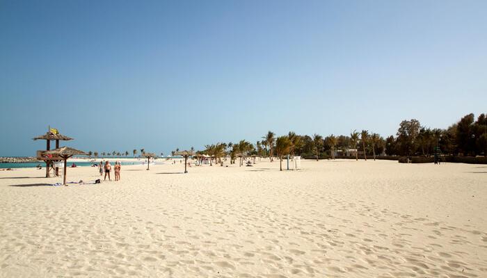 شاطئ الرمال البيضاء