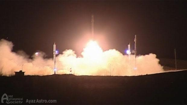 يعد إطلاق القمر الصناعي