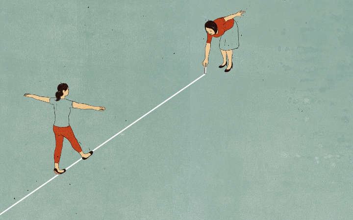 إدارة المثالية والإدارة - القلق الاجتماعي لدى الموظفين