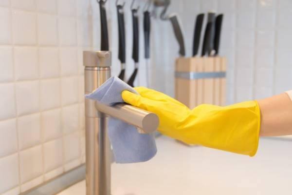 تشغيل صمام المطبخ