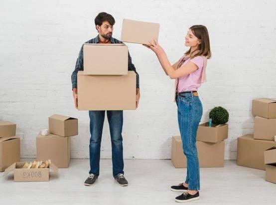 العيش مع زوج كسول