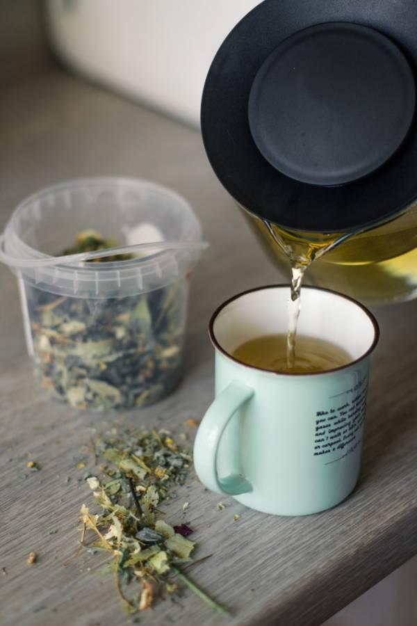 استخدم الشاي الأخضر