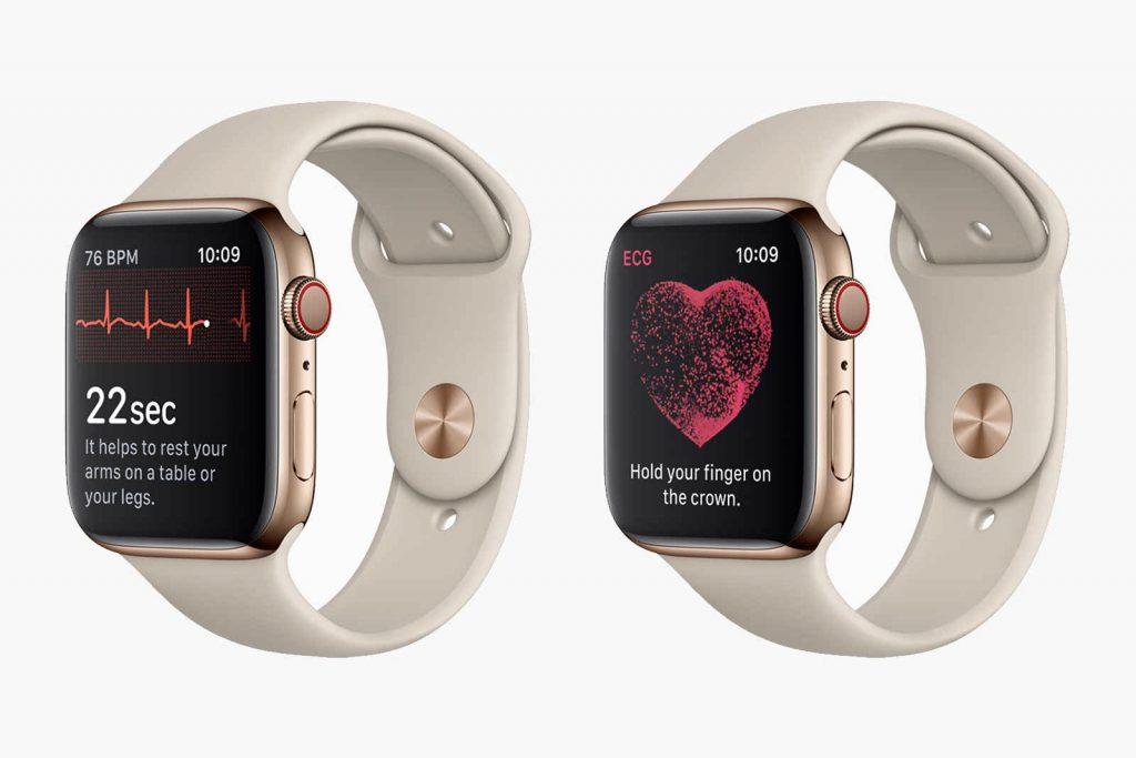 التفاح ووتش سلسلة 5 الميزات الصحية