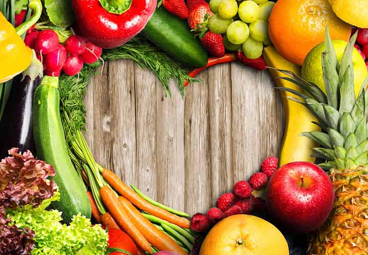 استهلك الفواكه والخضروات