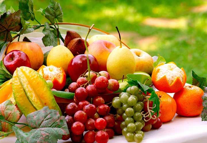 يحتوي نظام GM الغذائي على الكثير من الفواكه والخضروات.