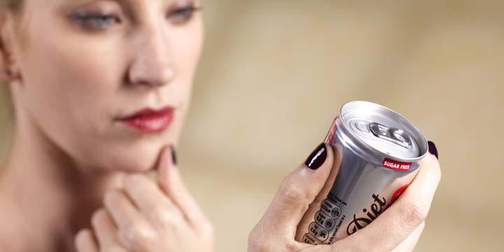 لا تختلف مشروبات الدايت عن المشروبات العادية