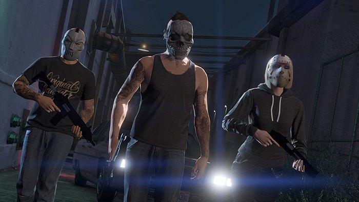 لعبة Grand Theft Auto Online