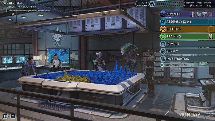 XCOM Chimera Squad لقطة شاشة للعبة