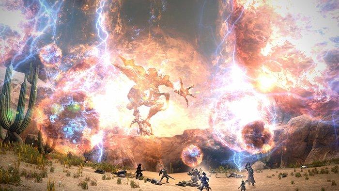 لعبة Final Fantasy XIV